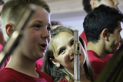 """""""Rabentanz"""" 2016 - Projekt Elijah (Marschalek) Tags: rabentanz transsilvanien siebenbrgen rumnien hosman musikauffhrung musikier musizieren kinder orchester blasmusik blser querflte trompete elijah"""