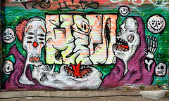 graffiti amsterdam (wojofoto) Tags: graffiti amsterdam netherland nederland holland wojofoto wolfgangjosten ndsm hi5