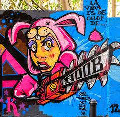 Wall Art (Valencia) (5) (Canon G1X) (1 of 1) (markdbaynham) Tags: wall art graffiti colour design local valencia street urban metropolis city spain spainish es espana espanol valencian canon canonites powershot g1x