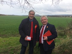 On the campaign trail with Cllr John McMillan