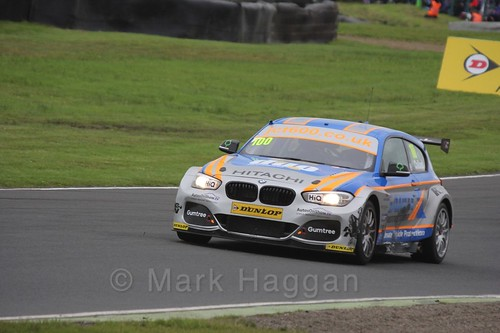 Rob Collard in BTCC race one at Knockhill Weekend 2016