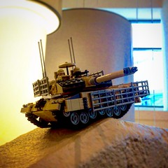 """""""Out of darkness"""" (ABS Defence Systems) Tags: mbt tank bbtb wip can 2a6m leopard lego"""