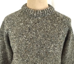 Real knitted wool sweater (Mytwist) Tags: fayespal vtg john molloy donegal 100 wool sweater crew neck heather taupe ireland fetish female fashion fair fishermans timeless textured traditional retro lady style sexy sweatergirl passion cabled classic grobstrick handgestrickt handcraft heavy heritage design sweaters vintage vouge exclusive knitwear knitting