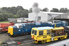 The Deltic Awakens (simmonsphotography) Tags: nenevalley railway railroad locomotive engine train preserved preservation gala heritage class55 deltic 55022 royalscotsgrey 55007 pinza diesel dieselelectric electric
