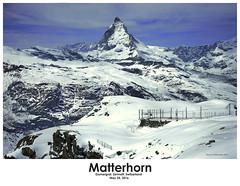 Matterhorn (Mario Hernandez (on and off, mostly off)) Tags: gornergrat zermatt switzerland matterhorn landscape mountain sonya7 carlzeiss2470 snow summit