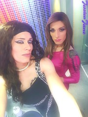 Naomi & Jessica (jessicajane9) Tags: selfie tv cd lgbt m2f trans tgirl transgender transvestite crossdressing feminization