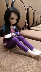 Kat at AnimeFest 2016 (bluepita) Tags: luts kdf kid delf msd 14 mini winter wintery event 2013 13 normal skin ns default face up fu kat bjd abjd asian ball jointed doll resin girl multibody animefest 2016 af