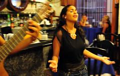 DSA_5370 (Dirk Rosseel) Tags: musica rumba havana lahabana cuba el rum restaurant restaurante guitar guitara singing song girl sexy