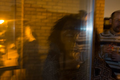 Asdghig and Ashley's party (Gary Kinsman) Tags: london bow e3 fairfieldroad fujix100t fujifilmx100t 2016 party houseparty night evening availablelight ambientlight