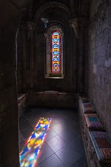 Reflected colours (James Waghorn) Tags: sigma1020f456 castle summer stainedglass dovercastle d7100 reflections dover kent shadows chapel historic england medieval religious dark tourism attraction heritage englishheritage