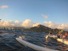 IMG_6841 (nautical2k) Tags: waikikibeachboys paddling outrigger canoe diamondhead honolulu oahu