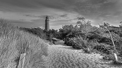At the Lighthouse (neya25) Tags: darser leuchtturm dars balticsea ostsee olympusomdem10 mzuiko 918mm blackandwhite schwarzweiss