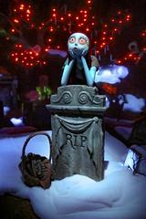 Sally (Four Straites) Tags: haunted mansion disneyland holiday sally jack skellington halloween