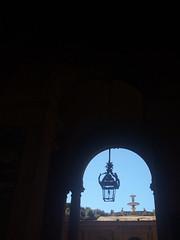 Lantern (niamhmcclymont) Tags: light dark silhouette lantern italy italian boboli garden