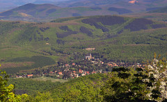 Village in the valley (Majorimi) Tags: canon eos 70d digital color colorful nice hungary spring mountain mtra hill house willage view panorama forest tree pitt sky valley nature green