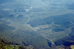 Aerial view of young volcanic flows from Mount Shasta, Siskiyou County, California (cocoi_m) Tags: aerialphotograph aerial nature geology volcanic flow mountshasta siskiyoucounty california geomorphology