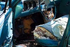 malibu (2 of 12) (C. A. Little) Tags: malibuproject beginning malibuinterior seats 65 malibu chevelle chevy old hot rod hotrod car cars bw muscle american vintage corgi