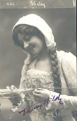 HELDY, Fanny, Marguerite, Faust, Monnaie, Brussels (Operabilia) Tags: autograph claudepascalperna goldenage opera fannyheldy soprano marguerite faust gounod monnaie brussels