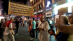 London Saturday Night Harinama Sankirtan - 24/09/2016 - VIDEO0006 (DavidC Photography 2) Tags: 10 soho street london w1d 3dl iskconlondon radhakrishna radha krishna temple hare harekrishna krsna mandir england uk iskcon internationalsocietyforkrishnaconsciousness international society for consciousness maha harinama sankirtan saturday night party chanting dancing singing west end china town leicester square piccadilly circus 24 24th september 2016 autumn
