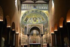 Pore  Parenzo, linterno della Basilica Eufrasiana (Valerio_D) Tags: pore parenzo eufrazijevabazilika hrvatska croazia croatia 2016estate istria istra 1001nights
