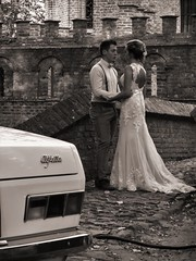 Wedding love (stijnbulckaen) Tags: couple koppel alfa romeo alfetta marriage huwelijk wedding