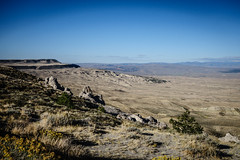 Looking out to the Absaroka Range (Carolannie: out and about, not lost yet) Tags: absarokarangewy sonyrx100m2 lightroom lightroompresets wyoming crowtribe crowheartbutte blackmountain windriverreservationwy chiefwashakie shoshonetribe sanddrawroadfromrivertontosweetwaterstationwy