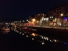 The Barbican, Plymouth (Sean Paull) Tags: plymouth barbican night reflection iphone7plus iphone 7 iphone7 devon