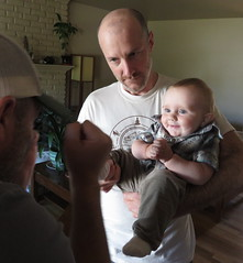 little man in the new house (carolyn_in_oregon) Tags: brian portland oregon jacob al allie