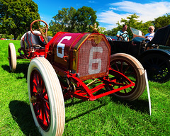 1909 E-M-F made in Detroit (hz536n/George Thomas) Tags: riversidepark orphanscarshow 2016 cs5 canon canon5d emf ef1740mmf4lusm everittmetzgerflanders michigan september summer ypsilanti carshow copyright racer