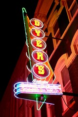 Dyer's (pburka) Tags: dyers burgers diner restaurant neon sign illuminated bealest memphis tn tennessee