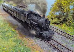 Q1 smoke (ecpeters15) Tags: reading 264 company railroad ho scale model train trains steam locomotive kitbash kit bash scratch built build custom styrene suburban tank engine