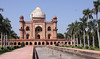 Safdarjung's Tomb (built ~1754) (Bos 7 of 7) Tags: india newdelhi safdarjungstomb