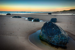282/365 Warkworth, Northumberland - The Birling Carrs (Mark Seton) Tags: sunset beach rock photo northumberland photograph miscellaneous dailyphoto warkworth pictureaday rockpool dailyphotograph project365282 project365081012 birlingcarrsrocks