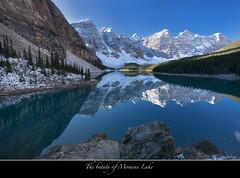 "Moraine Lake (Joalhi ""Around the World"") Tags: snow canada mountains alberta lakelouise morainelake coth5 valleyofthetenpeaksreflection"