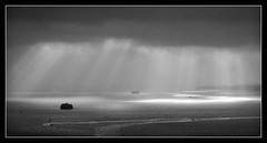 View from Spinnaker Tower - Portsmouth (Simon Rutter Photography) Tags: seascape rain mono moody view dramatic portsmouth spinnakertower allrightsreserved simonrutter