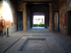 Impluvium toward Atrium, House of Menander, Pompeii