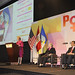 "UN Women Executive Director Michelle Bachelet delivers remarks at the event ""Power: Women as Drivers of Growth and Social Inclusion, in Lima, Peru"