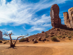 Monument Valley, Utah, John Wayne's Boot (K r y s) Tags: arizona unitedstates oljatomonumentvalley