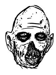 makeup sketch (andres musta) Tags: sketch zombie makeup plan andres musta