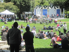 Yerba Buena Gardens (shaire productions) Tags: sf sanfrancisco california park trees people tree green photo image candid photograph greenery yerbabuena yerbabuenagardens imagery