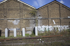 10ft Dets Toxic (datachump) Tags: toxic graffiti trackside tox dets 10ft 10foot tenfoot tox09
