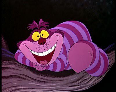 愛麗絲夢遊仙境 Cheshire Cat 裂嘴貓