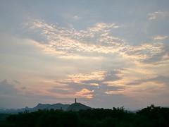 日落 (鐘暉) Tags: sunset 夕阳 宝塔