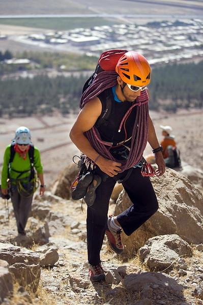 иран, керманшах, бисотун, спорт, скалолазание
