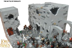 The Battle of Osgiliath (G g) Tags: minas lego earth middle thering middleearth minastirith sauron mordor tirith gondor orcs theonering warofthering legolordoftherings legoorc generalmagma legolotr lordoftheringslego legoosgiliath legothelordoftherings legotolkien generalmagmaorc battleofosgiliath lastdefenseofminastirith mordorvsgondor legosauron orcsoldiers legobattleofosgiliath