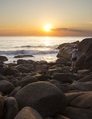 Zenith Beach (Kimmy Whiteley) Tags: water clouds sunrise canon sand rocks nsw nelsonbay portstephens zenithbeach 600d