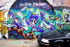 (J.F.C.) Tags: sanfrancisco de graffiti drama