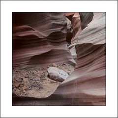 Water Holes Slot Canyon, Page, Arizona -- A study in Colors, Patterns, and Textures (jimf_29605) Tags: arizona color texture square nikon sandstone pattern page rockformations slotcanyon waterholescanyon nikon1855mm navajotriballand d7000