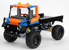 Mack Marble 5T Front (thirdwigg) Tags: lego offroad 4x4 i5 suspension m technic xl trial driveline legotechnic portalaxle powerfunctions trialtruck