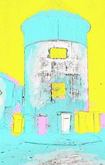 Schloss Laudon - Schlo Hadersdorf - Laudon Castle (hedbavny) Tags: vienna wien abstract tower castle night austria nacht digitalart abstraction turm mlleimer narrenturm penzing sehenswrdigkeit laudon digitalabstract 1140 schlos mistkbel sterreichaustria mauerbach hadersdorf schlosslaudon mauerbachstrase